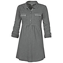 Buy Fat Face Tunic Shirt, Gunmetal Online at johnlewis.com