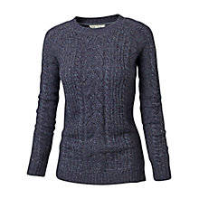 Buy Fat Face Ayla Pointelle Jumper, Grey Online at johnlewis.com