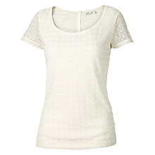 Buy Fat Face Somerset Lace T-Shirt Online at johnlewis.com