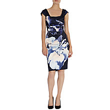 Buy Coast Biance Duchess Satin Dress, Multi Online at johnlewis.com