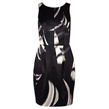 Buy Coast Monochrome Elle Dress, Black/White Online at johnlewis.com