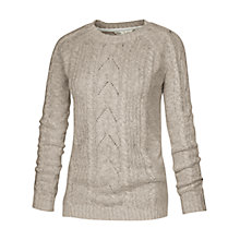 Buy Fat Face Tabitha Jumper, Taupe Online at johnlewis.com