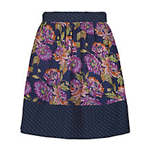 Buy Fat Face Cross Stitch Skirt, Multi Online at johnlewis.com