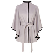 Buy Coast Harlem Wool Blend Cape Coat, Mono Online at johnlewis.com