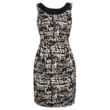 Buy Coast Danika Jacquard Dress, Mono Online at johnlewis.com