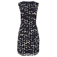 Buy Coast Reegan Heart Printed Dress, Black/Blue Online at johnlewis.com