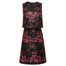 Buy Coast Sonal Printed Layer Dress, Multi Online at johnlewis.com