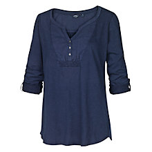 Buy Fat Face Woven Bib Detail T-Shirt Online at johnlewis.com