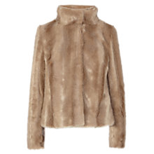 Buy Coast Chelsea Faux Fur Coat, Fox Online at johnlewis.com