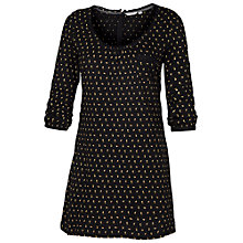 Buy Fat Face Kadi Mini Bud Tunic, Phantom Online at johnlewis.com