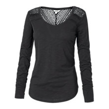 Buy Fat Face Lula Lace Long Sleeved T-Shirt Online at johnlewis.com