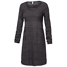 Buy Fat Face Knitted Lace Dress, Phantom Online at johnlewis.com