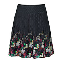 Buy Fat Face Rhododendron Skirt, Phantom Online at johnlewis.com