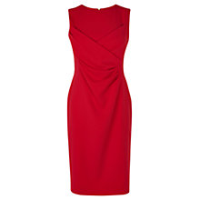 Buy Coast Arena Crepe Dress, Red Online at johnlewis.com