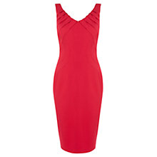 Buy Coast Contour Dress, Red Online at johnlewis.com