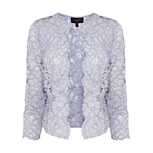 Buy Coast Izzy Lace Jacket, Silver Online at johnlewis.com