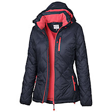 Buy Fat Face Technical Puffer Jacket, Navy Online at johnlewis.com