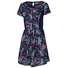 Buy Fat Face Forget Me Not Dress, Navy Online at johnlewis.com