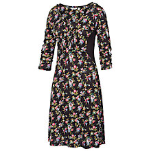 Buy Fat Face Gemma Gypsy Floral Dress, Phantom Online at johnlewis.com