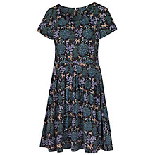 Buy Fat Face Kew Woodland Jersey Dress, Forest Online at johnlewis.com