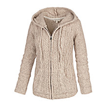 Buy Fat Face Alicia Cable Knit Hoody Online at johnlewis.com