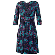 Buy Fat Face Connie Wrap Front Dress, Navy Online at johnlewis.com
