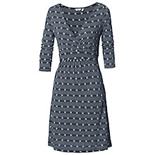 Buy Fat Face Connie Stripe Dress, Navy Online at johnlewis.com
