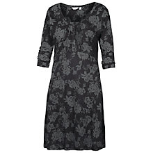 Buy Fat Face Gemma Tonal Rose Dress, Phantom Online at johnlewis.com