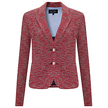 Buy Armani Jeans Boucle Jacket, Red Online at johnlewis.com