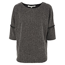 Buy Max Studio Herringbone Ponte Top Online at johnlewis.com