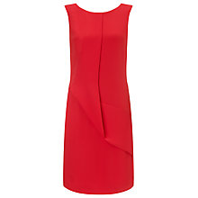 Buy Armani Jeans Drape Front Dress, Red Online at johnlewis.com