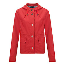 Buy Armani Jeans Lightweight Quilted Jacket, Navy/Red Online at johnlewis.com