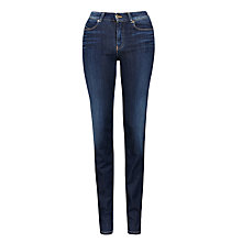 Buy Armani Jeans High Rise Slim Leg Jeans, Mid Denim Online at johnlewis.com