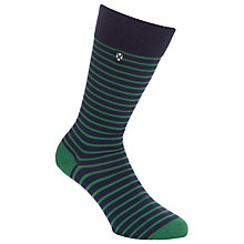Buy Barbour Alwin Stripe Socks Online at johnlewis.com