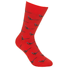 Buy Barbour Mavin Socks, Pheasant Red Online at johnlewis.com