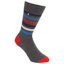 Buy Barbour Biddick Stripe Socks Online at johnlewis.com