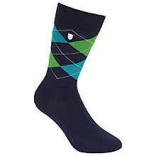 Buy Barbour Birtley Argyle Socks Online at johnlewis.com