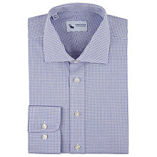 Buy Chester by Chester Barrie Gingham Check Shirt, Blue Online at johnlewis.com