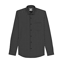 Buy Reiss Poker Spot Shirt, Black Online at johnlewis.com