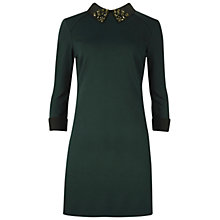 Buy Ted Baker Eelah Embellished Collar Dress Online at johnlewis.com