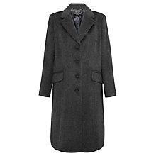 Buy Four Seasons City Coat, Soft Pewter Online at johnlewis.com
