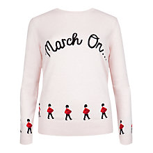 Buy Ted Baker Cookley March On Knitted Jumper, Straw Online at johnlewis.com
