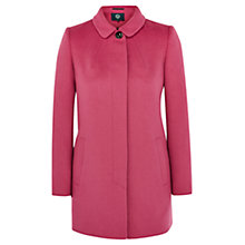 Buy VIyella Peter Pan Coat, Bubblegum Online at johnlewis.com