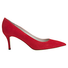 Buy Jigsaw Milly Point Toe Kitten Heel Court Shoes Online at johnlewis.com
