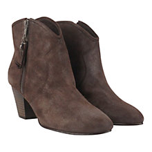 Buy Ash Jess Leather Heeled Ankle Boots Online at johnlewis.com