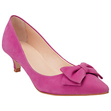 Buy John Lewis Pinot Bow Detail Court Shoes Online at johnlewis.com