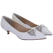 Buy Hassall for Rainbow Lady Penelope Court Shoes, Ivory Online at johnlewis.com