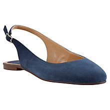Buy John Lewis Brighton Suede Pumps, Navy Online at johnlewis.com