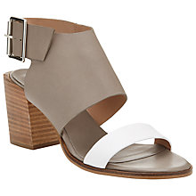 Buy Kin by John Lewis Fifty Five Heeled Leather Sandals Online at johnlewis.com