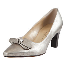 Buy Peter Kaiser Leola Leather Court Shoes Online at johnlewis.com